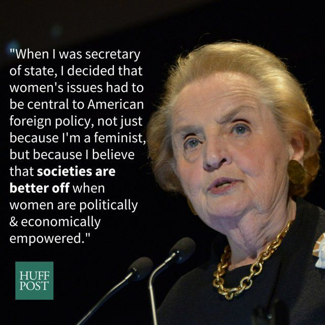 In Honor Of Her 78th Birthday, Here Are 8 Times Madeleine Albright Got It Totally Right