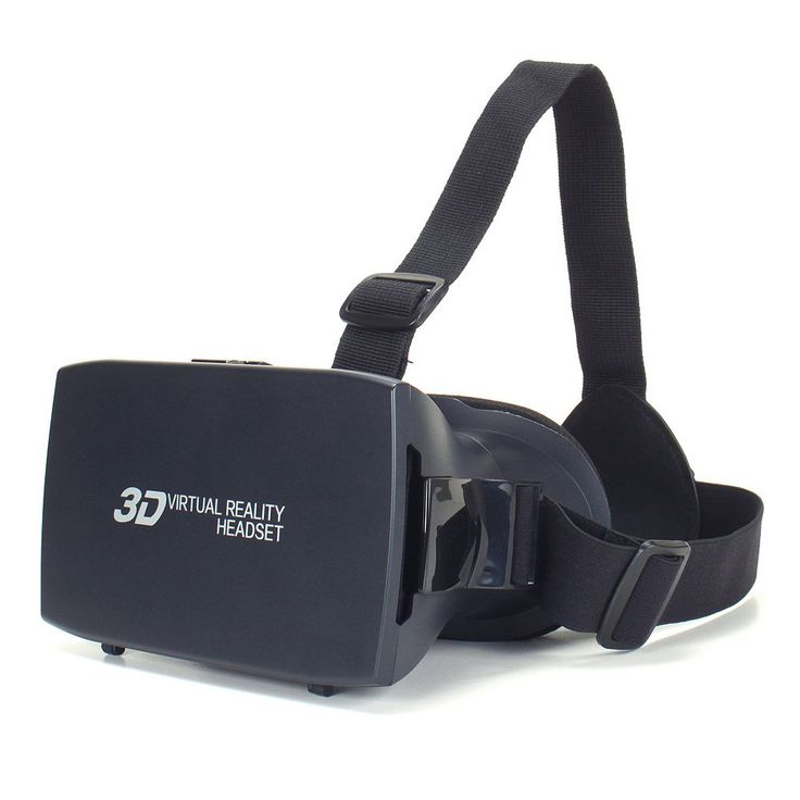 Enhance 3D Virtual Reality Headset, Black