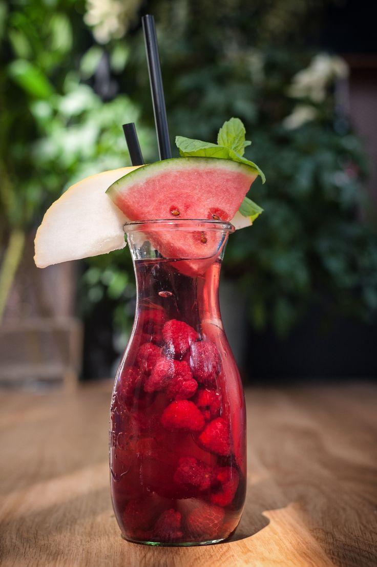 #raspberry #lemonade #watermelon #drink #fresh