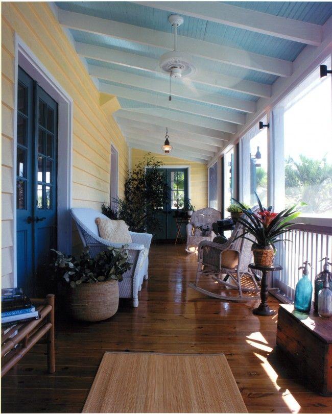 Front Porch Ceiling Ideas: Best 25+ Haint Blue Porch Ceiling Ideas On Pinterest
