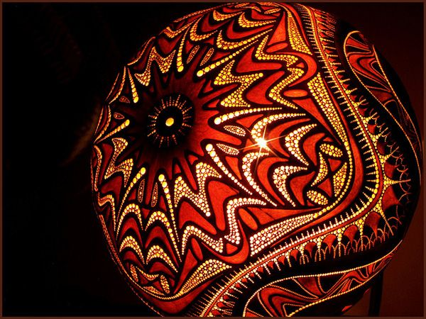 High Quality Gourd Lanterns | Exotic Gourd Lamps Great Pictures