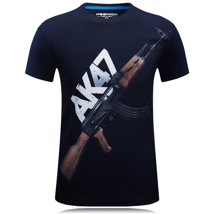 2016 summer Brand Casual Men's animal T-Shirt /bear / wolf Printed T-Shirts  Men Funny tee shirt Plus Size