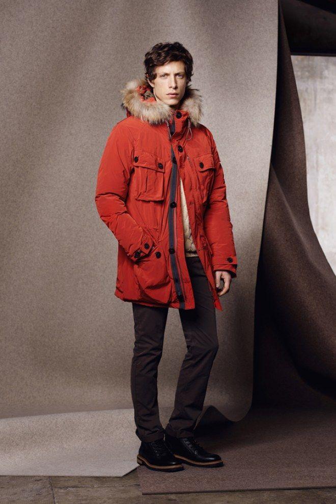 Une parka Aigle pour homme avec sa fourrure autour de la capuche. Bien douillet pour l'hiver !  La parka Langdale en duvet Gore-Tex signée Aigle, 590 euros.