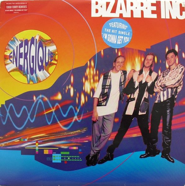 Bizarre Inc - Raise Me (from the Energique album)