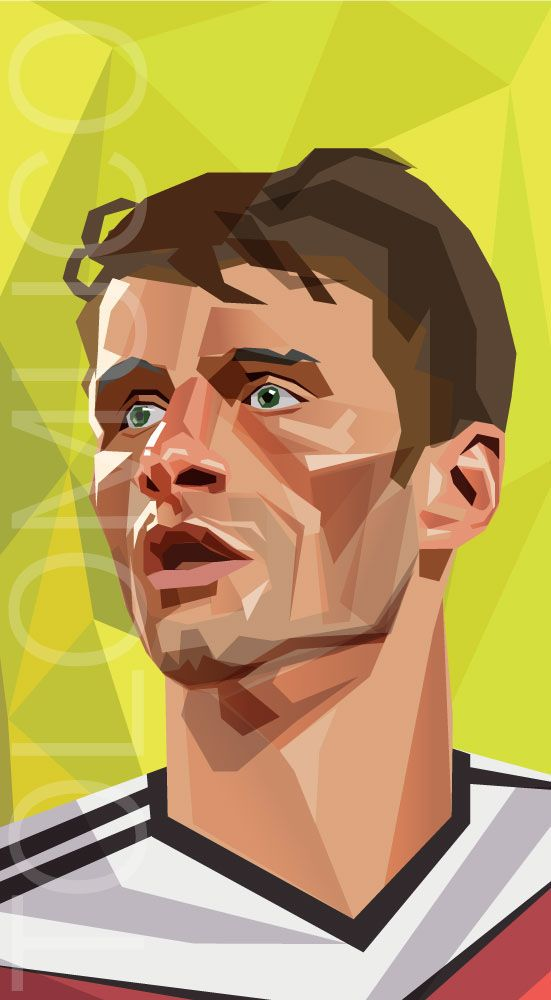 #MULLER World Cup Players by Daniel Solano, via Behance