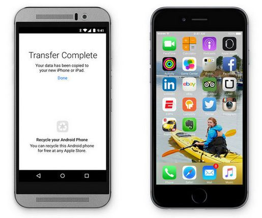 How to copy music from Android to iOS devices