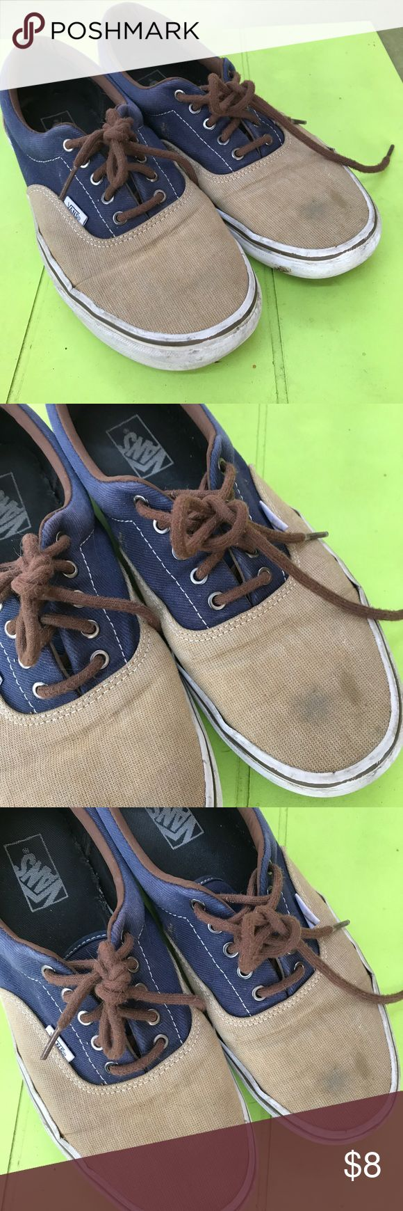 Size 11 1/2 men's vans shoes sneakers Well used size 11 1/2 men's vans still have some life left Vans Shoes Sneakers