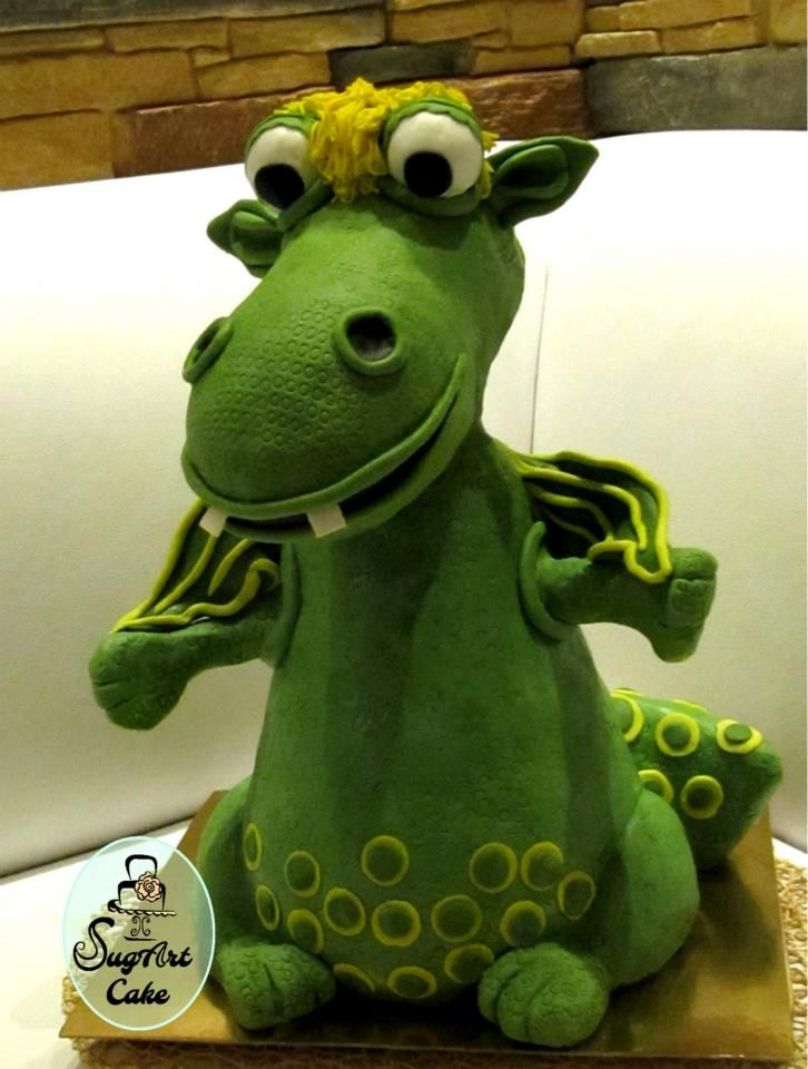 Süsü the Dragon Cake