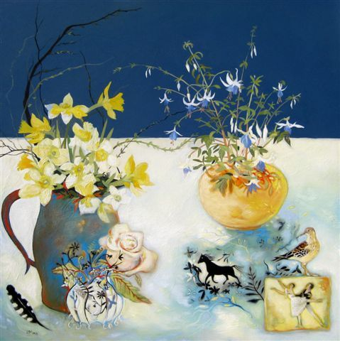 Lesley Mclaren - Daffodils & Dancers