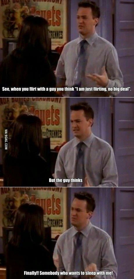 Chandler on flirting. --- flirtpla.net facebook,com/flirtplanet