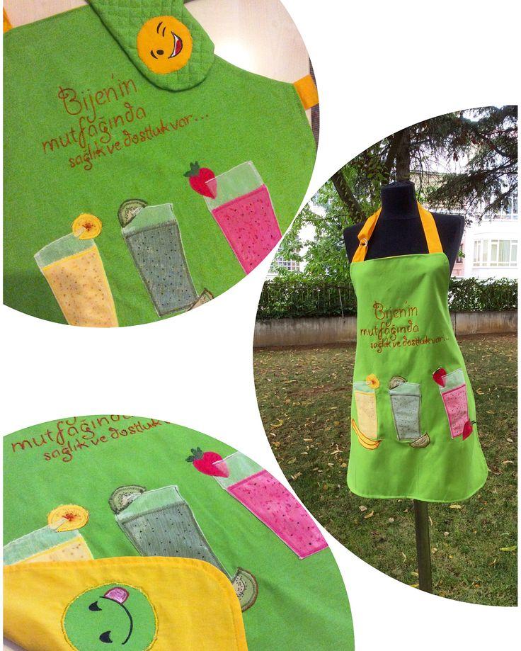 Kişiye özel tasarım önlük- apron
