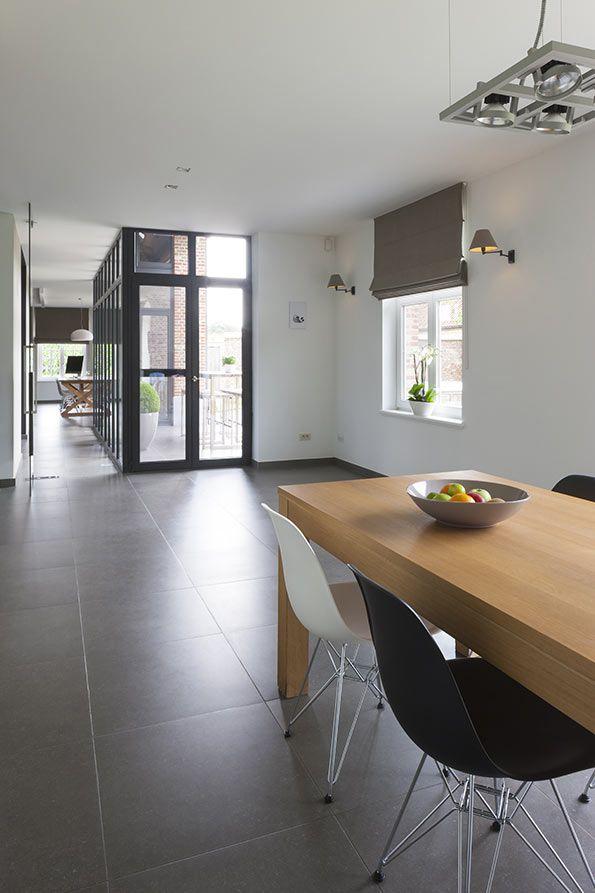 Interieurinrichting architectenbureau mieke van herck living dining room pinterest - Interieur decoratie van huizen ...