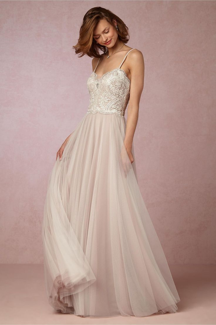 BHLDN Nina Gown in  Bride Wedding Dresses Lace at BHLDN
