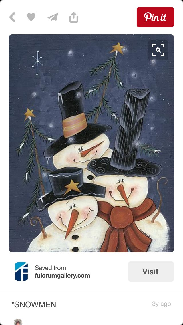 More snowmen...all flakes are welcome