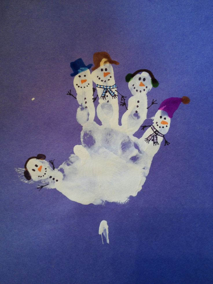 January Craft Ideas For Kids Part - 31: Winter / Snow Craft For Toddlers And Kids