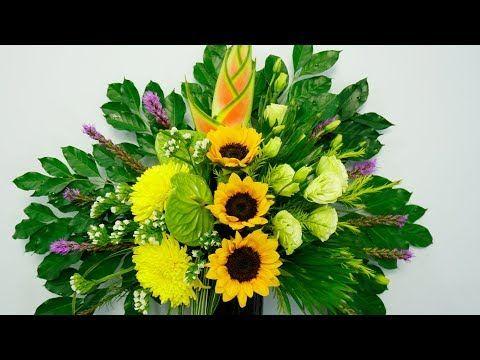 Youtube Flower Arrangements Flower Decorations Flowers
