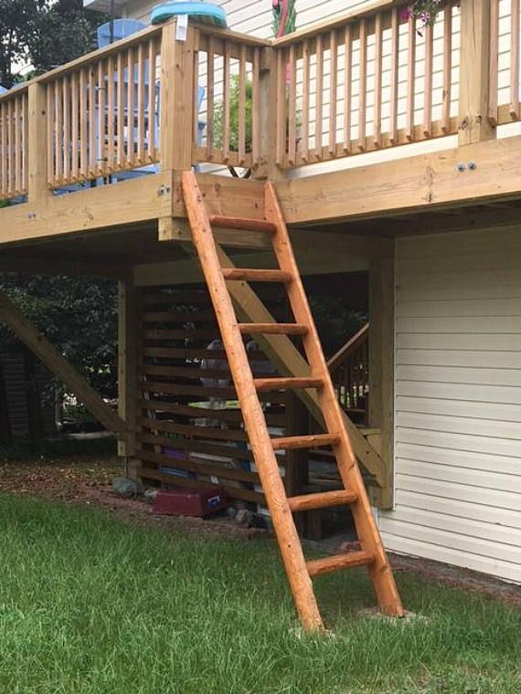 Library Loft Ladders Stands Up Custom Made To Fit Perfectly Like A Stairs Stairway Ladder Stands Stairways Ladder