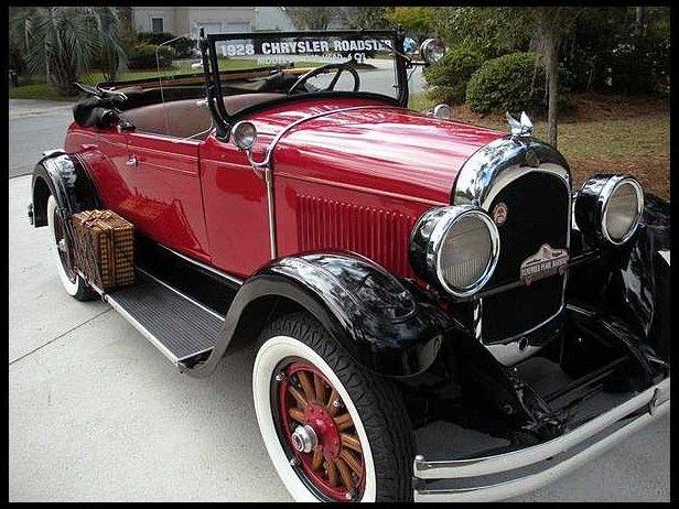 1928 Chrysler Model 62 Roadster 85 HP, 3-Speed | Mecum Auctions