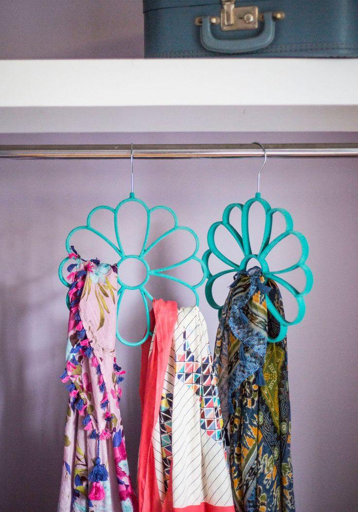 Best 25+ Scarf hanger ideas on Pinterest | Scarf ...