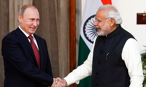 Russian President Vladimir Putin to be offered 30 JV plans during his 4-day stay in India