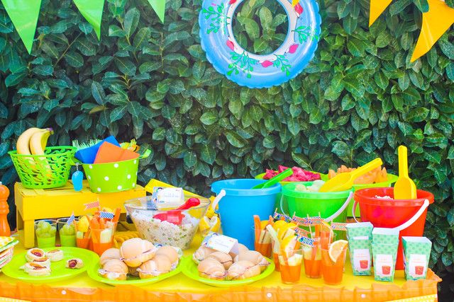 "Photo 1 of 19: Beach Party / Birthday ""Beach PArty"" 