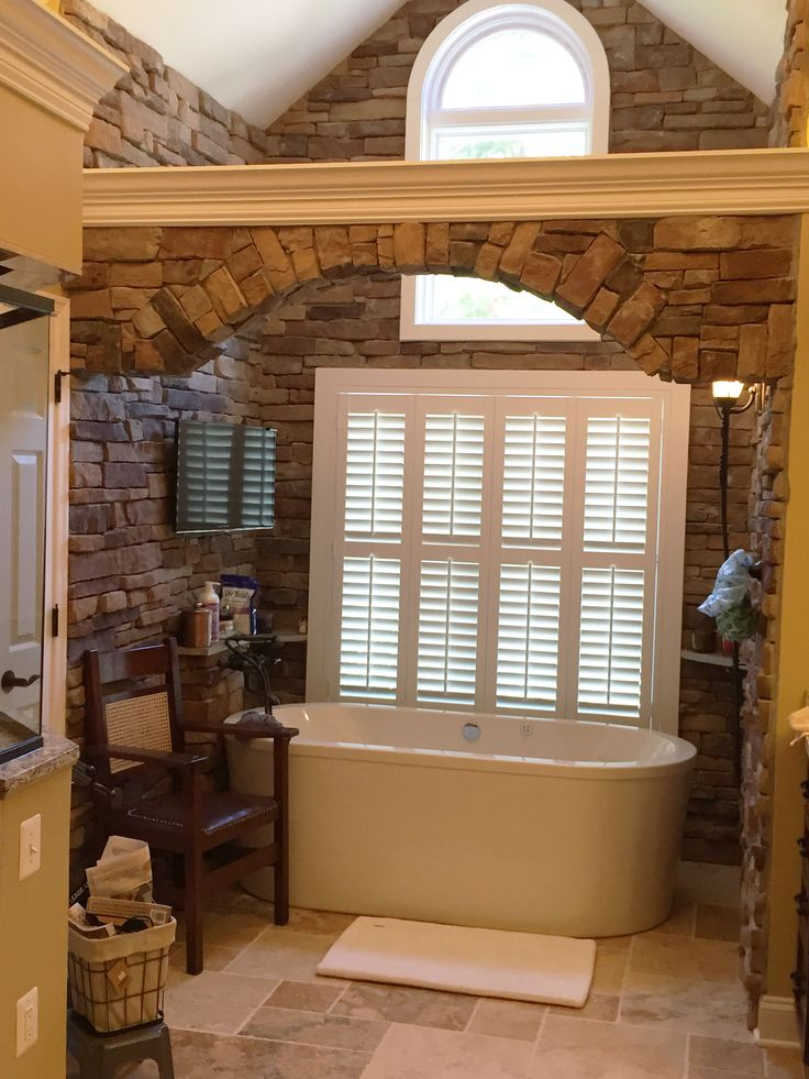 17 Best Images About Bathroom Window Covering Ideas On Pinterest Soaking Tubs Window