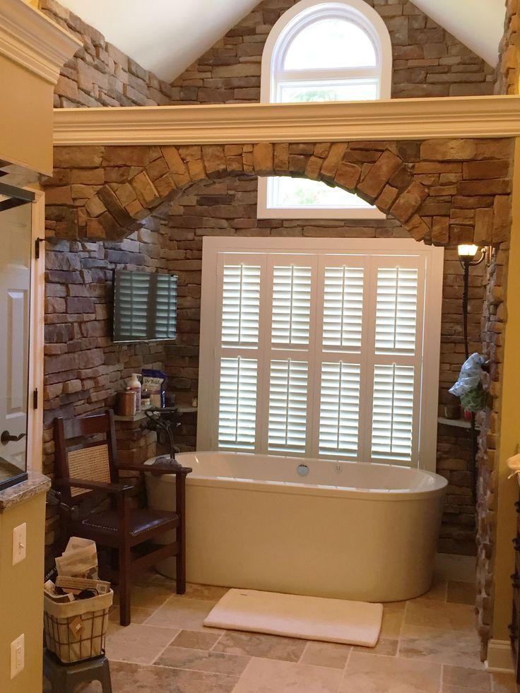 164 best bathroom window covering ideas images on pinterest for Shutter window treatment ideas