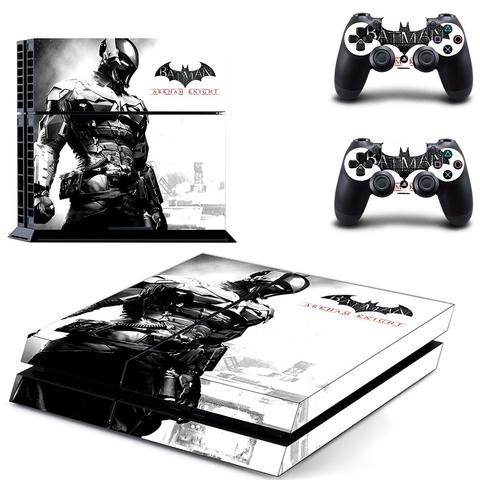 batman arkham city ps4 skin decal for console and controllers