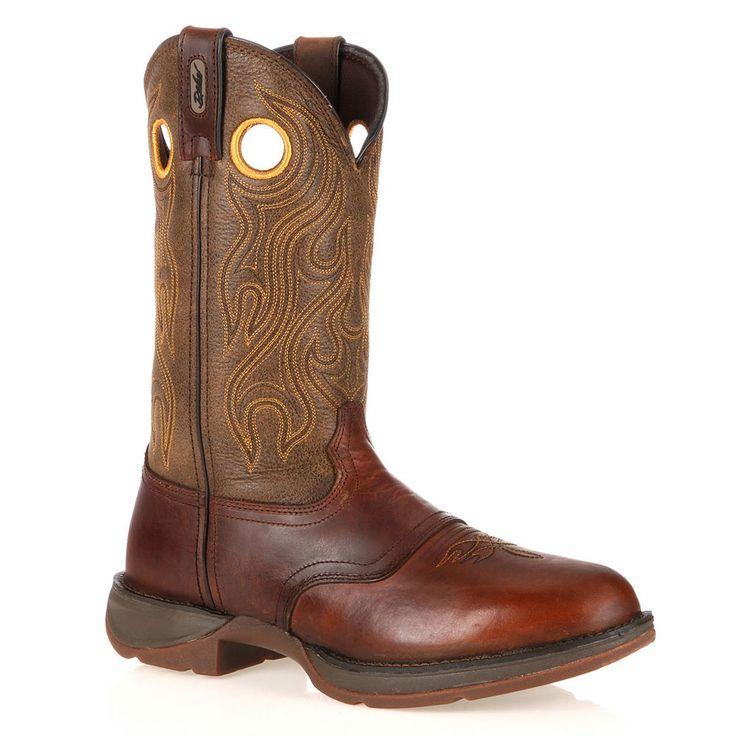 Durango Rebel Men's 11-in. Western Boots, Size: medium (11.5), Brown