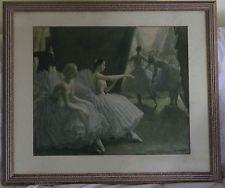 "Dame Laura Knight Framed Print ""The Ballet"""