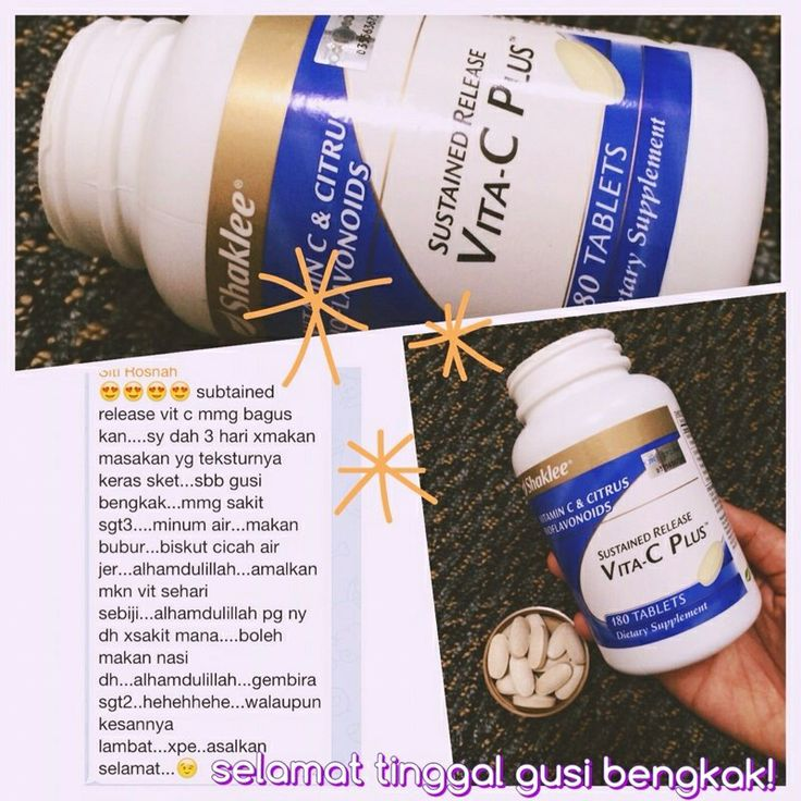Vita C Plus membantu memulihkan masalah dalaman dan luaran