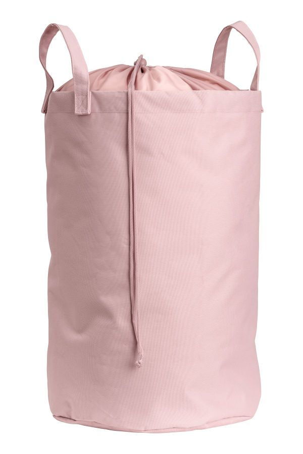 Check This Out Laundry Bag In Thick Polyester Featuring A Smooth