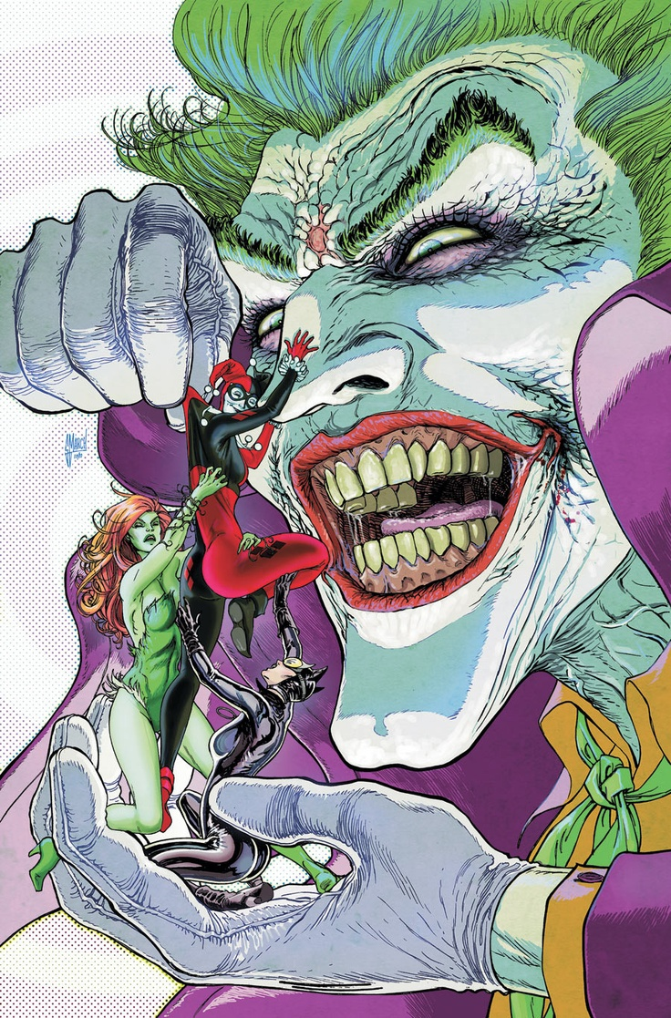 Guillem March gotham city sirens 20