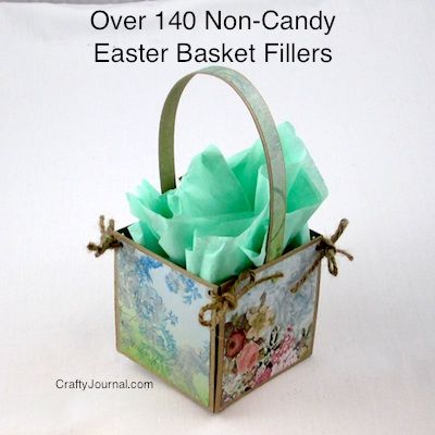 Over 140 Non-Candy Easter Basket Fillers - Crafty Journal
