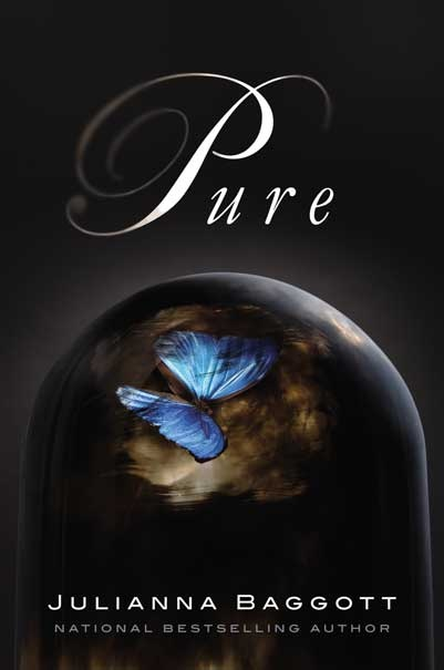 Pure, by Julianna Baggott  The Hunger Games was the first really unique book I read in a very long time.  Pure is no less unique; it's familiar but oh, so very different and moving.