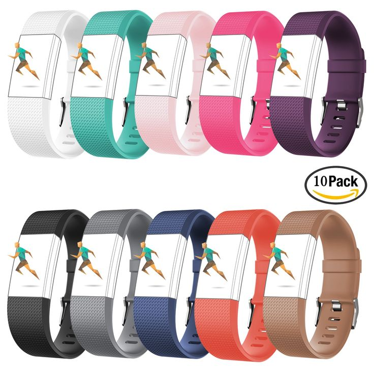 For Fitbit Charge 2,CreatGreat Silicone Replacement Band for Charge 2/Fitbit Charge 2 Band/Fitbit Charge 2/fitbit charge 2 accessories/fitbit charge 2 wristbands/fitbit charge 2 bands/Fitbit Charge 2