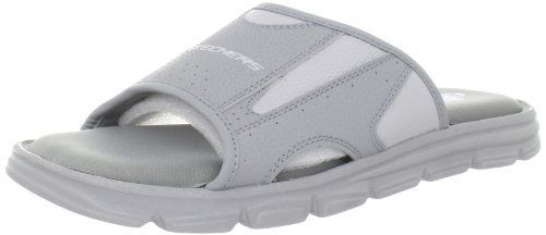 Skechers Men's Uprush-Foreshore Relaxed Fit Slide Sandal Skechers. $34.95. Made in China. synthetic. Manmade sole