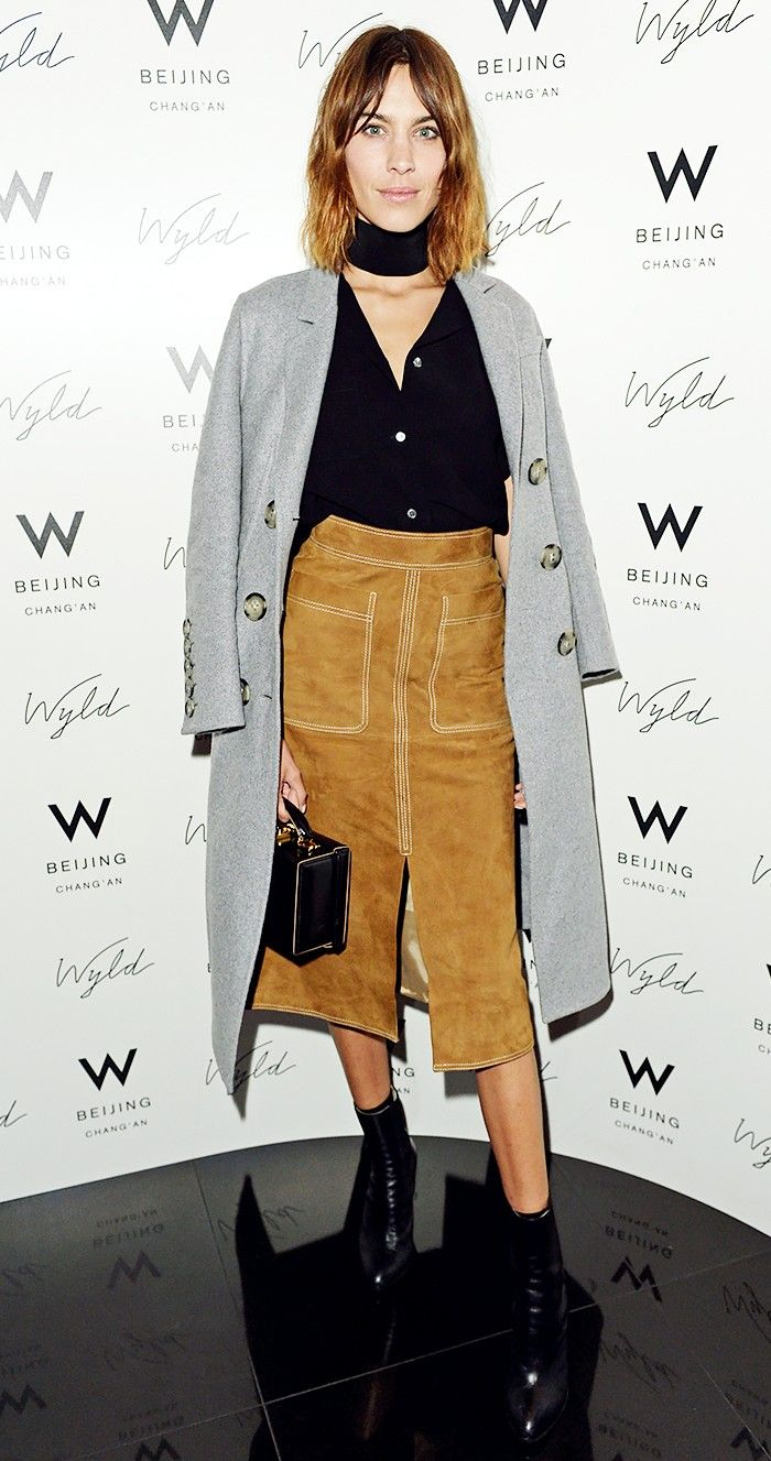 An Alexa Chung Outfit for Every Occasion via @WhoWhatWearAU