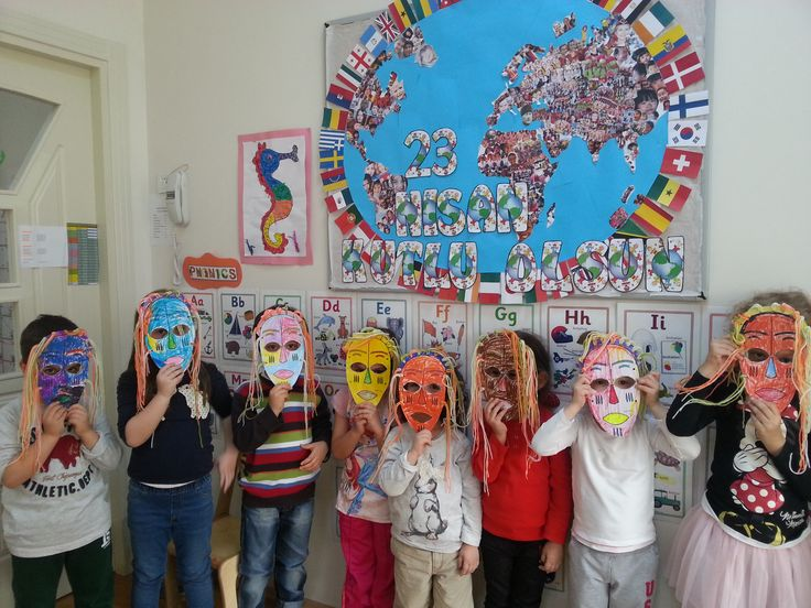 #23 #Nisan #world #kids #africa #mask #craft