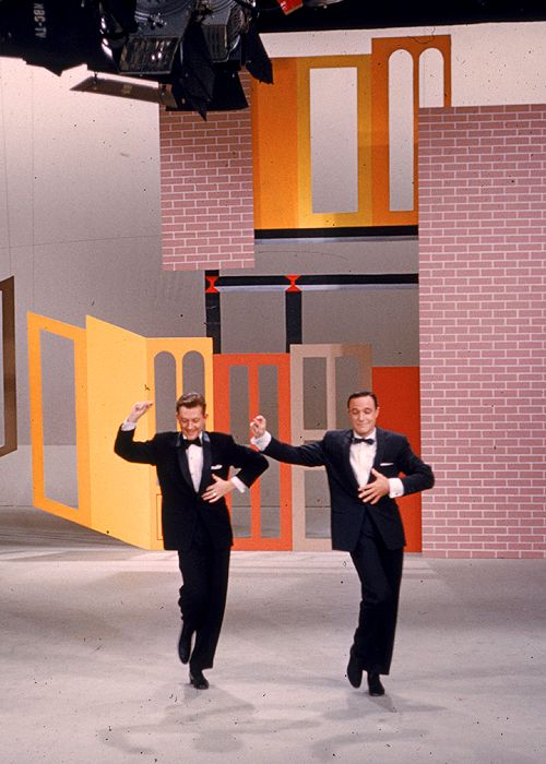 Donald O'Connor and Gene Kelly from Gene's TV special from 1958!