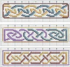 Celtic Bookmark Cross Stitch Patterns