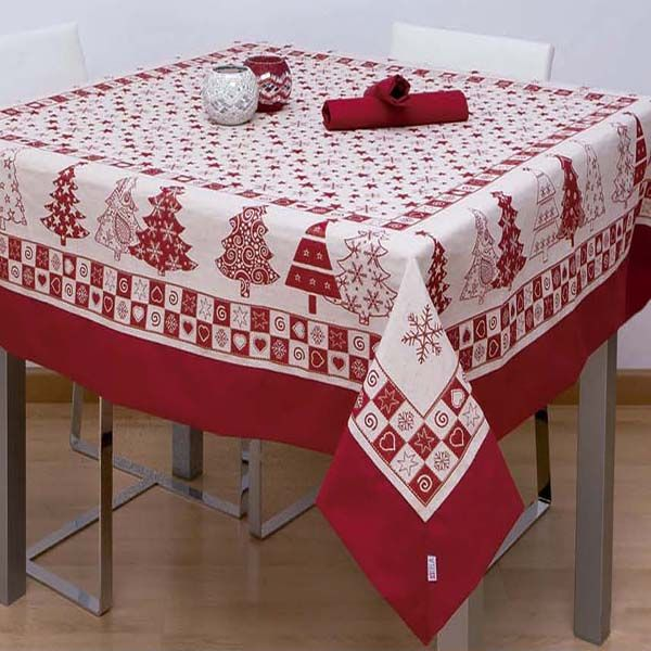 1000 images about manteles navide os on pinterest natal tablecloths and navidad - Manteles navidenos ...