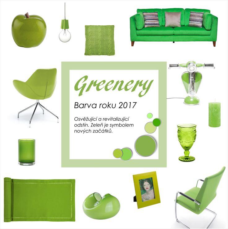 Greenery - Pantone barva roku 2017