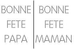 Bonne fête Maman/Papa - LocaZil