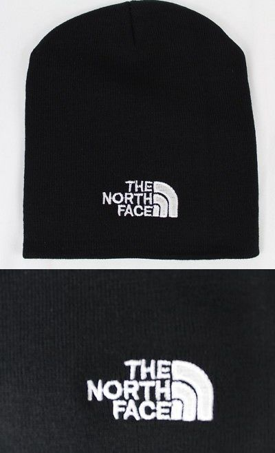 53972cb5815 Hats 163543  The North Face - Black Knit Winter Hat (Beanie Style)-New-Free  Shipping -  BUY IT NOW ONLY   13.25 on  eBay  north  black  winter  shipping
