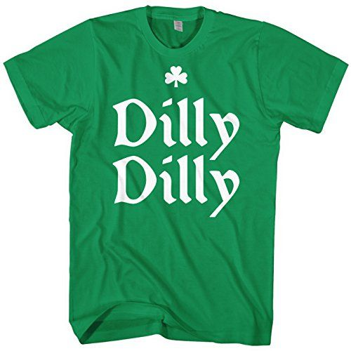 Mixtbrand Men's Dilly Dilly ST. Patrick's Day T-Shirt S K...