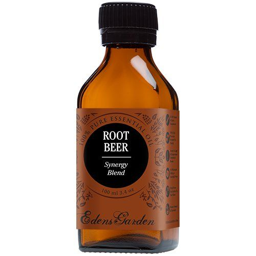 Root Beer Synergy Blend Essential Oil by Edens Garden (Black Pepper, Camphor, Lemongrass, Peppermint, Vetiver and Wintergreen)- 100 ml *** You can get additional details, click the image : NOW essential oils