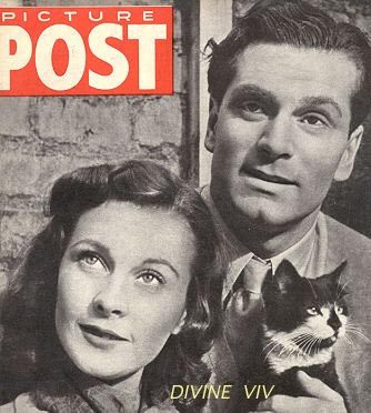 """vivien leigh + laurence olivier  WHEN ASKED WHY THEY WOULD RETURN TO GREAT BRITAIN DURING THE LONDON BOMBINGS, THEY WERE KNOWN TO HAVE ANSWERED, """" BECAUSE WE'RE BRITISH.""""  PATRIOTIC BRITS!!!"""