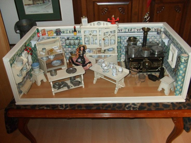 Puppenküche   334 Best Puppenkuche Miniature Kitchens Images On Pinterest