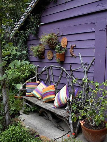 18 Farmhouse Garden Benches In Hardwood Ensure Longer Lifetime - All DIY Masters